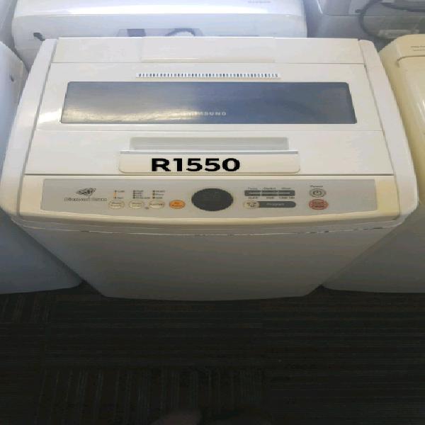 Samsung 8kg diamond drum top loader washing machine