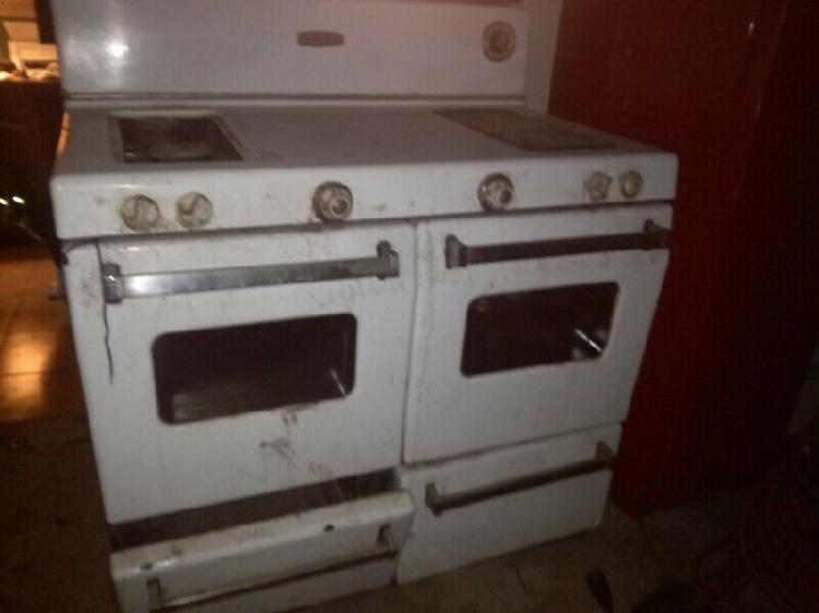 Vintage defy gas double stove r550 onco
