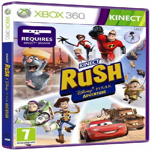 Kinect rush: a disney pixar adventure (xbox 360) - kinect