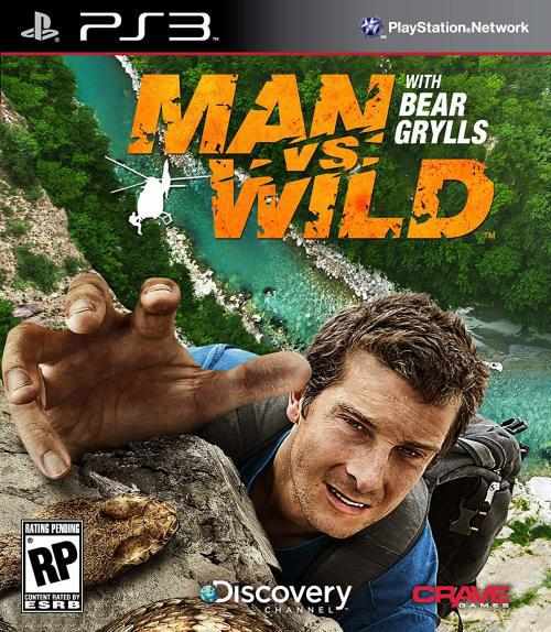 Man vs wild with bear grylls game for ps3