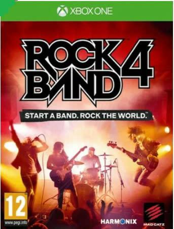 Rock band 4 (xbox one.)