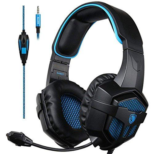 Sades xbox one stereo gaming headset over-ear headphones