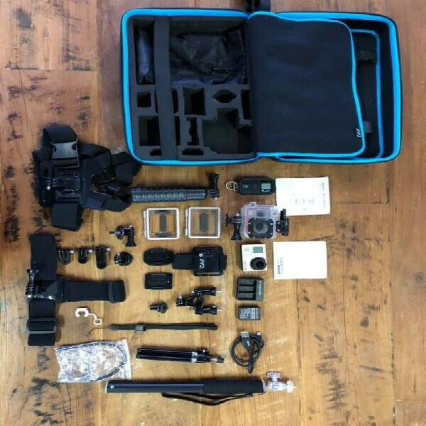 Go pro 3 with accessories