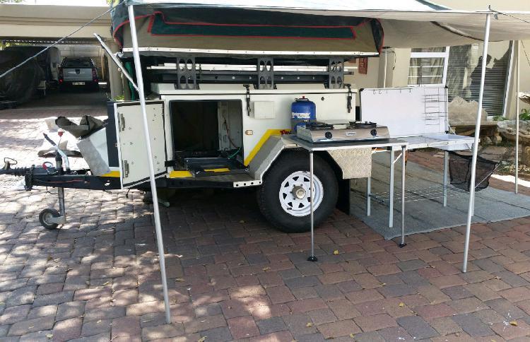 Jurgens 4x4 xt120 trailer