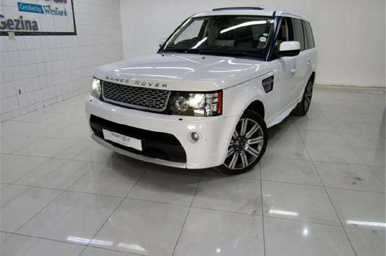 Land rover range rover sport supercharged auto autobiography