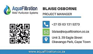 Off grid purification port elizabeth