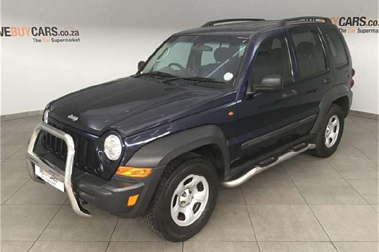 Jeep cherokee 2.8lcrd sport 2006