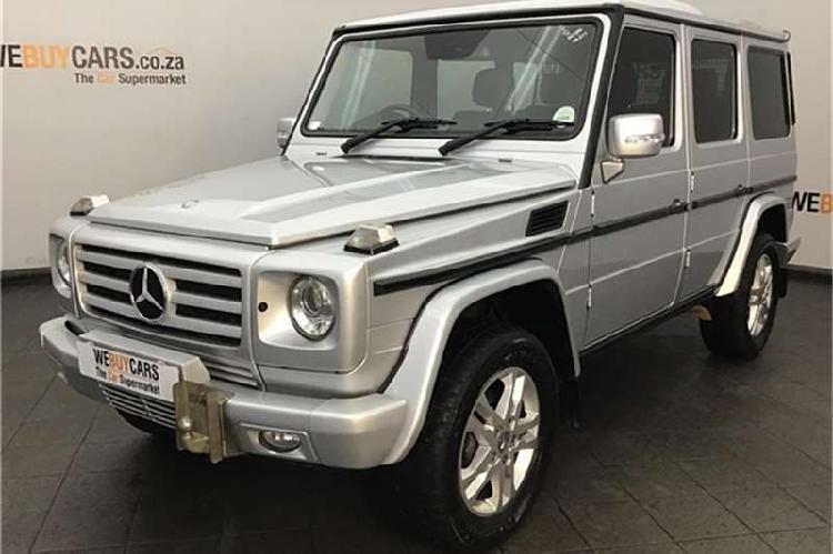 Mercedes benz g class g350 bluetec 2012