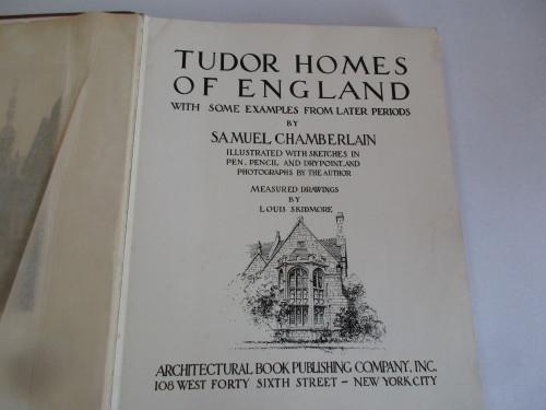 Tudor homes of england
