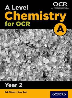 A level chemistry a for ocr year 2 student book (paperback)