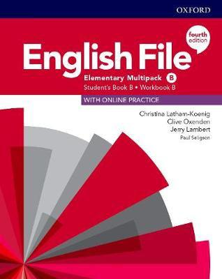 English file: elementary: student's book/workbook multi-pack