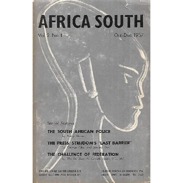 Africa south (with frontispiece by gerard sekoto) (vol. 2,