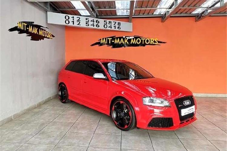 Audi rs3 sportback quattro 2012