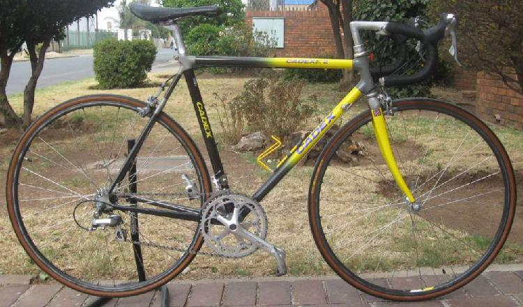 Giant cadex carbon fiber racing 2 vintage bike
