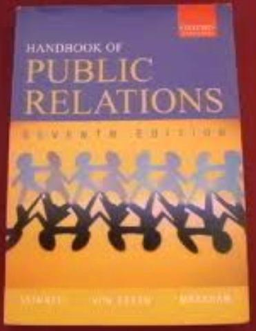 Handbook of public relations - seventh edition. reduced!
