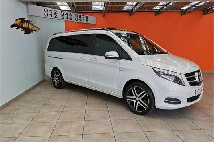 Mercedes benz v class v250 bluetec avantgarde 2017