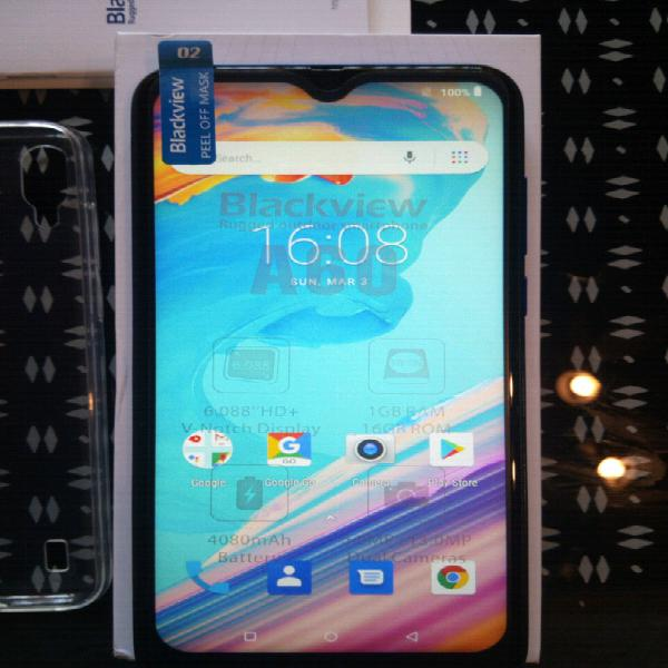 New android phones - blackview a60 16gb (blue)