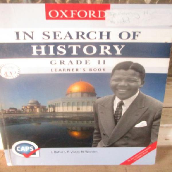 OXFORD IN SEARCH OF HISTORY;GRADE 11;LEARNER'S BOOK(CAPS)