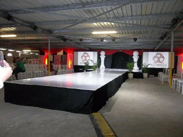 Stage hire indoor events only - east london