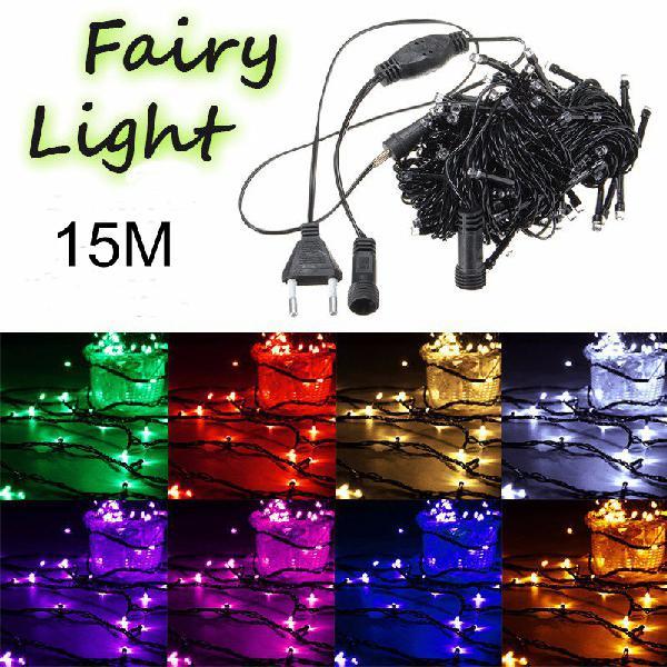 15m 150 led string fairy light outdoor christmas xmas