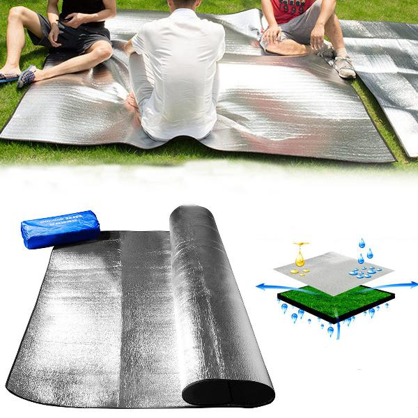 2x1.5m/2x2.5m outdoor camping picnic mat moisture-proof