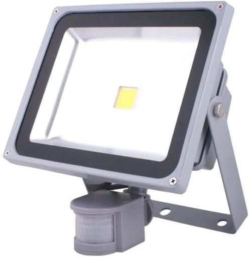 50w 220v led flood light led outdoor light with motion