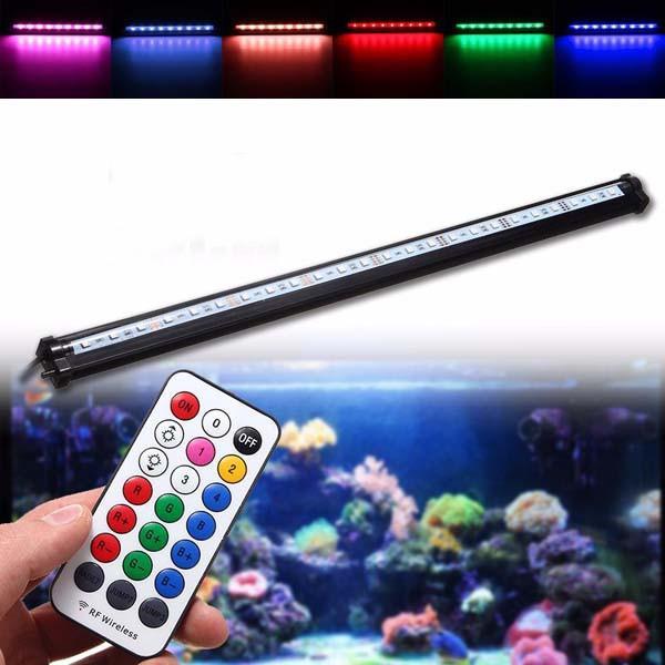 55cm rgb smd5050 rigid led strip light air bubble aquarium