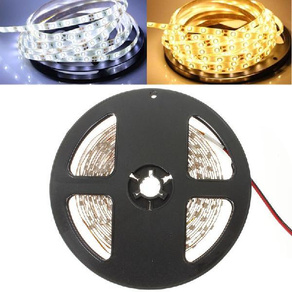 5m 24w 300leds smd 3528 pure white warm white flexible led