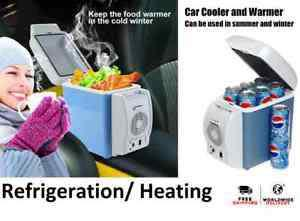7.5l capacity portable car refrigerator cooler or warmer