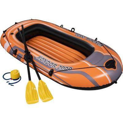 Bestway 188cm x 98cm kondor 2000 set (oars + pump)