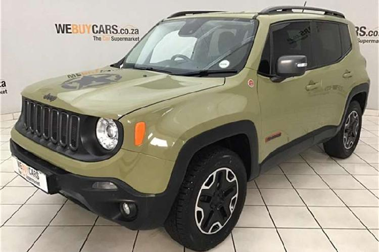 Jeep renegade 2.4l 4x4 trailhawk 2016