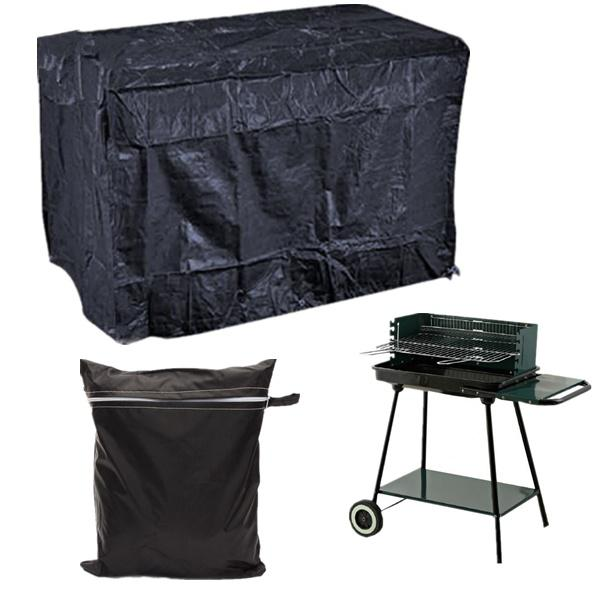 Outdoor camping bbq waterproof cover barbecue grill