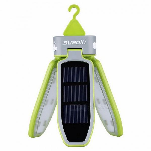 Portable folding collapsible led light usb solar powered
