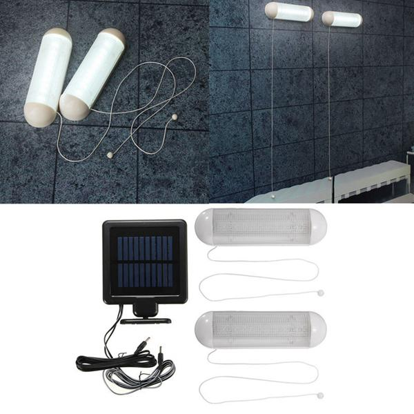 Solar powered 10 led wall light waterproof garden fence lamp