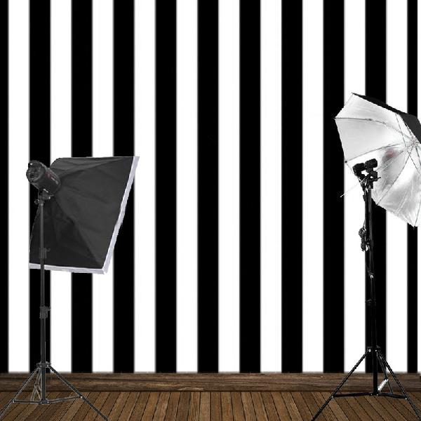 8x8ft black white stripes wall photography studio vinyl