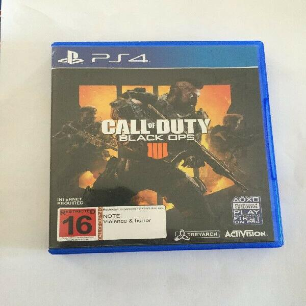 Call of duty black ops 4 playstation 4