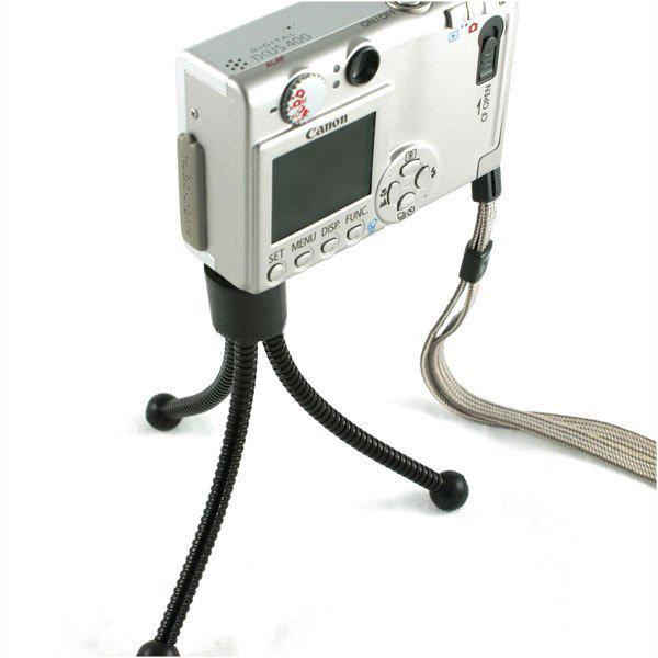 Universal camera flexible mini 4 inch metal tripod