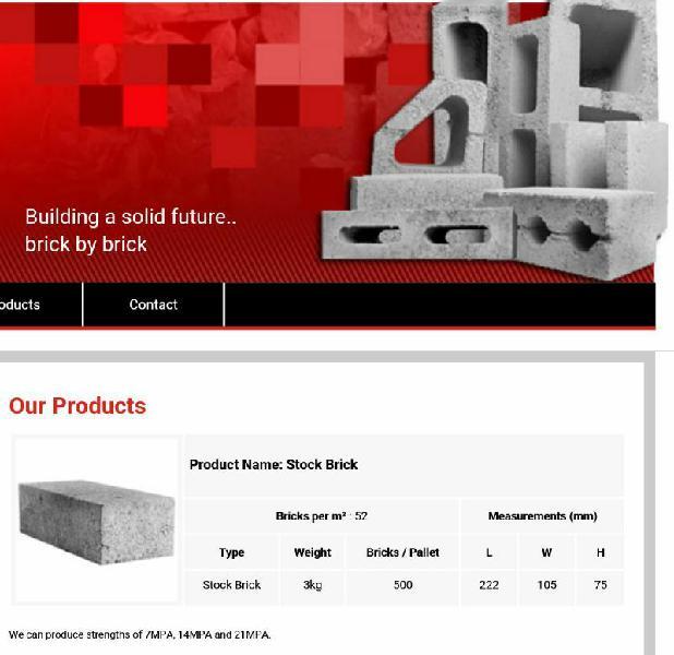 Building blocks and bricks at low prices !