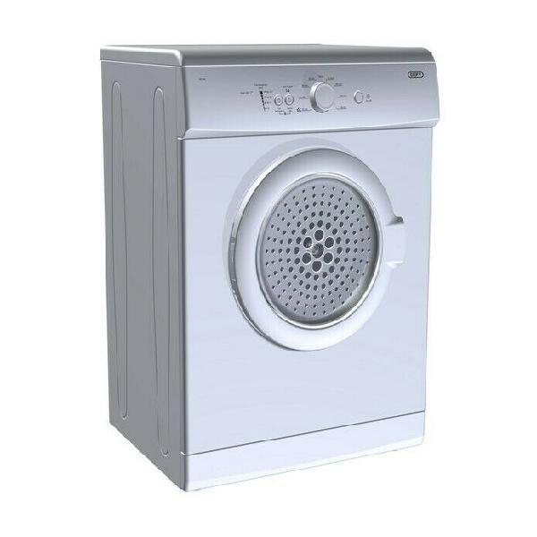 Defy - 5kg autodryer – silver tumble dryer dtd 259