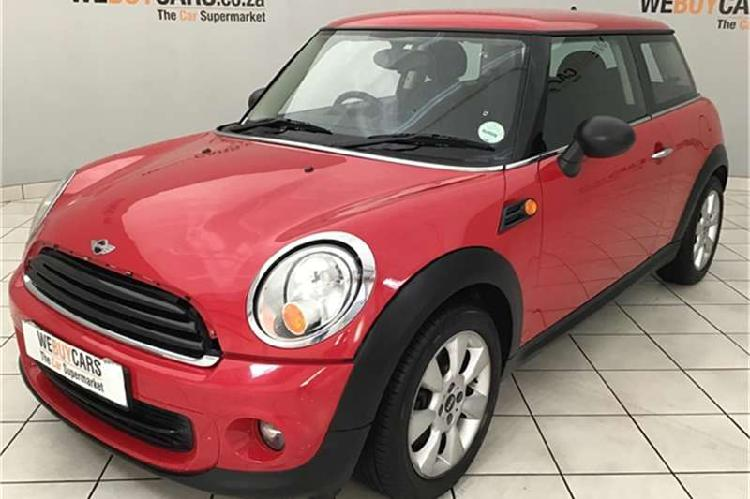 Mini hatch one 2012