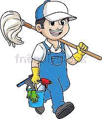 Office cleaner job