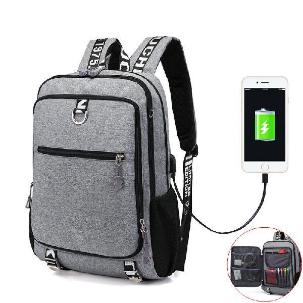 Xmund xd-dy12 16 inch laptop bag 17l usb waterproof shoulder