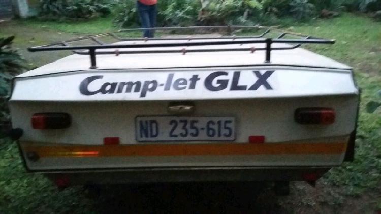 Camplet glx camper camping trailer