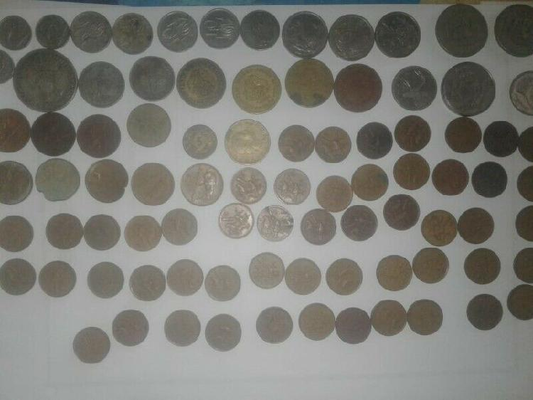 Old coins and medals