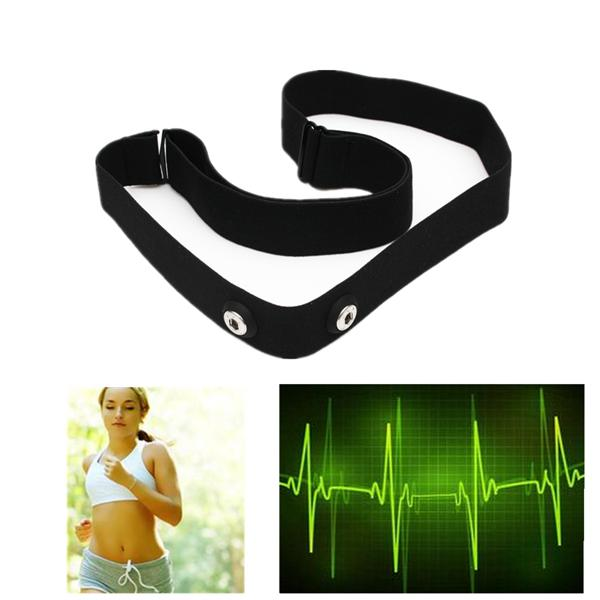 Elastic chest belt strap for wahoo garmin polar sport heart