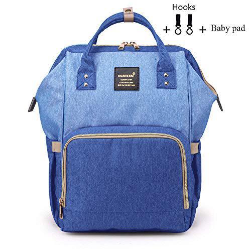 Baby diaper bag multi-function waterproof travel backpack