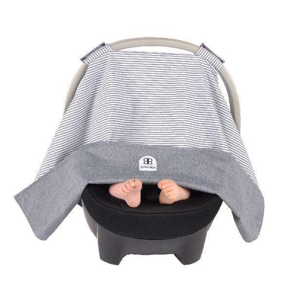 Balboa baby reversible car seat canopy - ticking