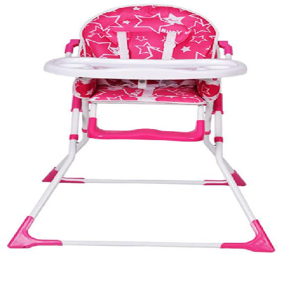 Feeding baby high chair - pink - [second hand]