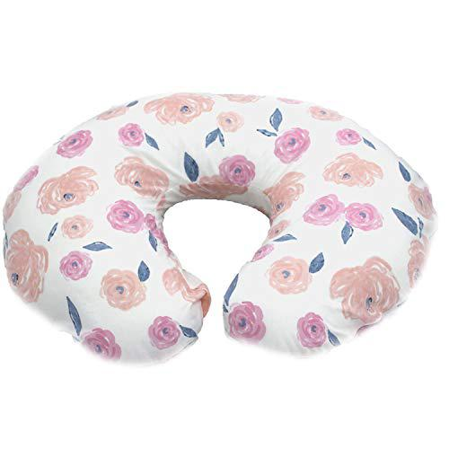 Pam grace creations rose boppy cover, pink