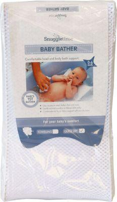 Snuggletime quick dry baby bather (white)